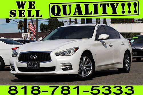 2014 INFINITI Q50 PREMIUM **$0 - $500 DOWN. *BAD CREDIT CHARGE OFF BK* for sale in Los Angeles, CA