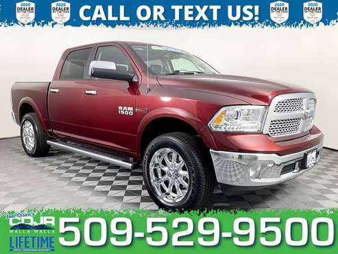 2017 Ram 1500 Diesel 4x4 4WD Truck Dodge Laramie Crew Cab - cars &... for sale in Walla Walla, WA