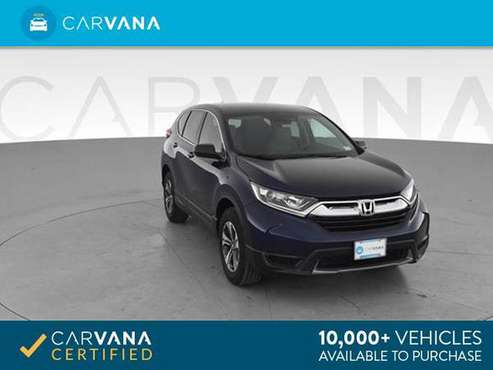 2018 Honda CRV LX Sport Utility 4D suv Blue - FINANCE ONLINE for sale in Round Rock, TX