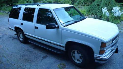 1999 Chevy Tahoe for sale in Tolland , CT