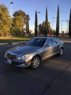 MERCEDES BENZ S550 Luxury Sedan CLEAN TITLE / Excellent Condition for sale in Sacramento , CA