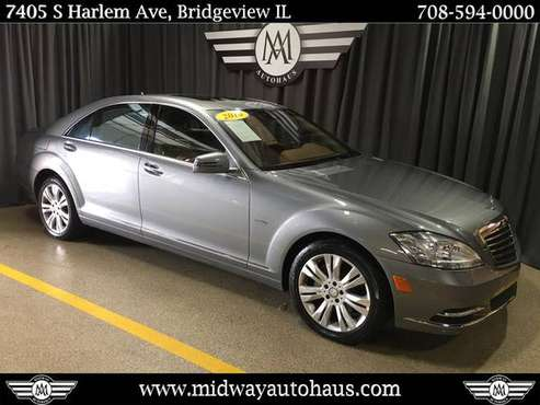 2010 Mercedes-Benz S-Class 4dr Sdn S 400 Hybrid RWD for sale in Bridgeview, IL