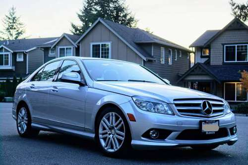 2008 Mercedes Benz C300 AWD, 86K miles only for sale in Kirkland, WA