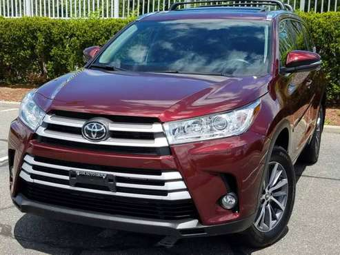 2018 Toyota Highlander XLE AWD 11K Miles w/Leather,Navigation,Sunroof for sale in Queens Village, NY