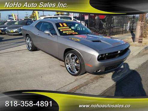 2015 Dodge Challenger SXT - cars & trucks - by dealer - vehicle... for sale in North Hollywood, CA