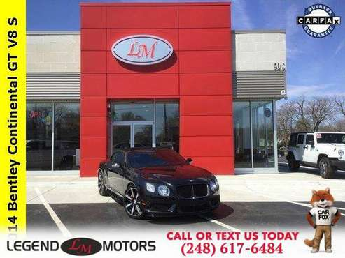 2014 Bentley Continental GTC GT V8 Convertible for sale in Waterford, MI