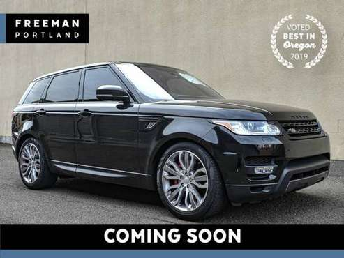 2016 Land Rover Range Rover Sport 4x4 V8 Supercharged Dynamic 4WD Clim for sale in Portland, OR