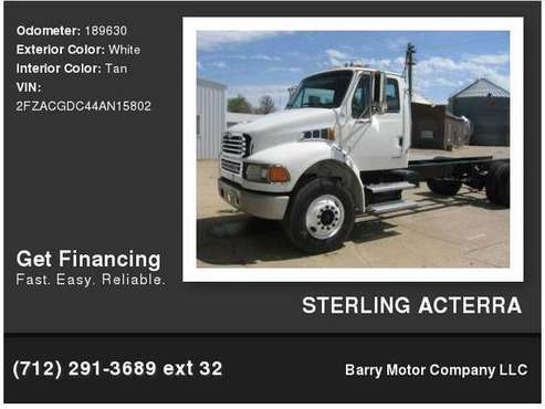 STERLING ACTERRA IN HOUSE FINANCING! for sale in Danbury, IA
