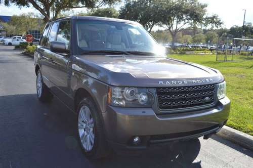 2011 LAND ROVER RANGE ROVER HSE LUXURY EDITION NAV DVD'S CALL NOW for sale in TAMPA, FL