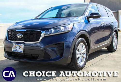 2019 *Kia* *Sorento* *LX V6 AWD* Blaze Blue for sale in Honolulu, HI