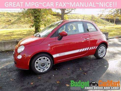 2012 FIAT 500 2dr HB Pop for sale in Norton, OH
