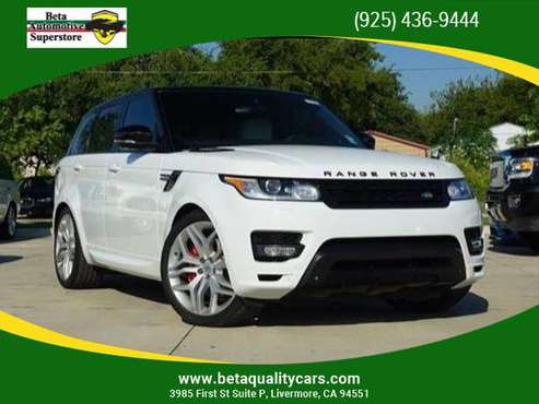 2014 Land Rover Range Rover Sport - Financing Available! The Best Qual for sale in Livermore, CA