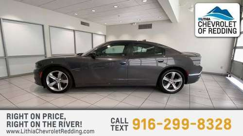 2016 Dodge Charger 4dr Sdn R/T RWD - cars & trucks - by dealer -... for sale in Redding, CA