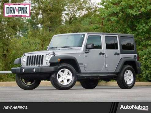 2016 Jeep Wrangler Unlimited Sport 4x4 4WD Four Wheel SKU:GL266142 for sale in Johnson City, NC