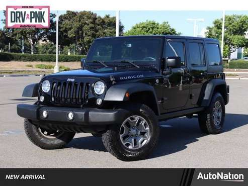2015 Jeep Wrangler Unlimited Rubicon 4x4 4WD Four Wheel SKU:FL650333 for sale in Irvine, CA