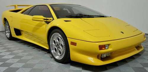 1996 *Lamborghini* *Diablo* *VT* Yellow for sale in Scottsdale, AZ