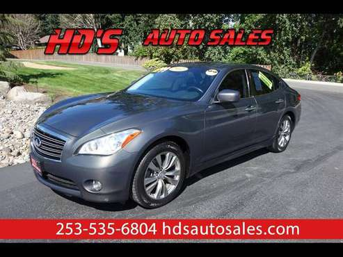 2012 Infiniti M 37 ONLY 70K MILES!!! HEATED/COOLED SEATS!!! NAVIGATION for sale in PUYALLUP, WA
