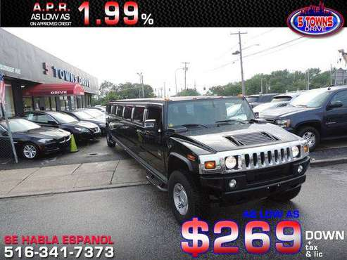 2006 HUMMER H2 limousine **Guaranteed Credit Approval** for sale in Inwood, NY