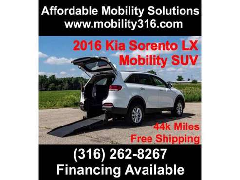 2016 Kia Sorento LX Wheelchair Mobility Handicap FREE SHIPPING! for sale in Wichita, KS