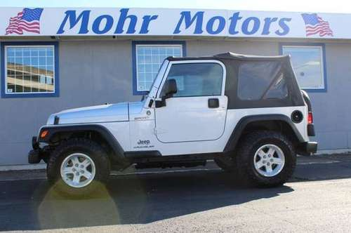 2006 Jeep Wrangler 4x4 Sport 2dr SUV 4WD SUV for sale in Salem, OR