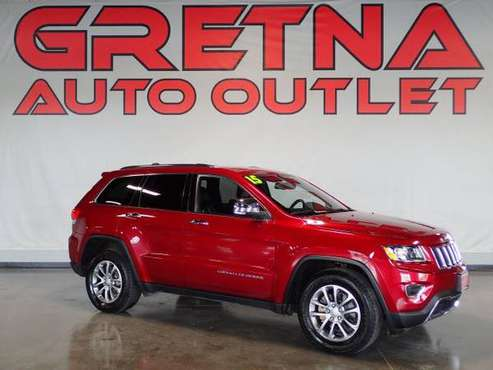 2015 Jeep Grand Cherokee 4x4 Limited 4dr SUV, Red for sale in Gretna, IA