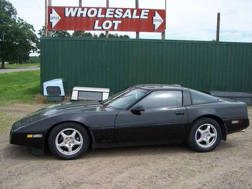 1986 CHEVY CORVETTE! 106,983M DOUG NASH 4+3 MANUAL/AUTO TRANNY! for sale in Little Falls, MN