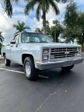 **C10 SQUARE BODY CHEVY for sale in Naples, FL