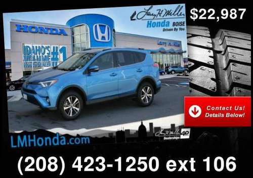 2017 Toyota Rav4 Xle for sale in Boise, ID