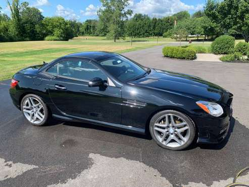 2015 Mercedes SLK350 with 9,775 Miles! for sale in Spencerport, NY