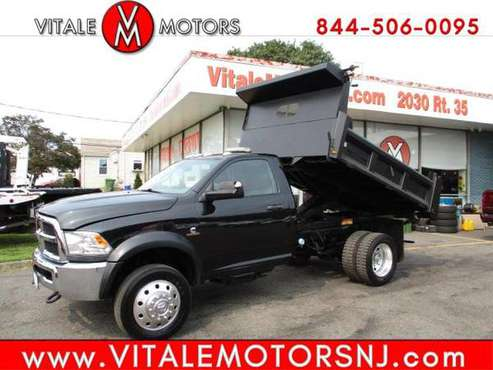 2016 RAM 5500 REG. CAB 4X4 DIESEL DUMP TRUCK - cars & trucks - by... for sale in south amboy, MN