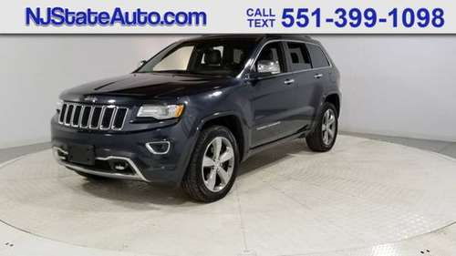 2014 Jeep Grand Cherokee 4WD 4dr Overland for sale in Jersey City, NJ