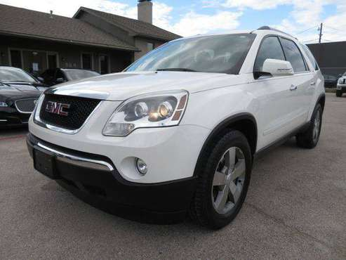 2012 GMC ACADIA SLT-1 -EASY FINANCING AVAILABLE for sale in Richardson, TX