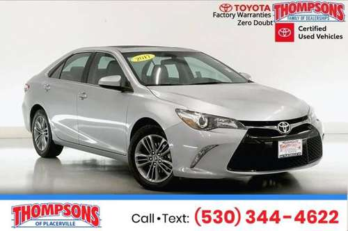 2017 Toyota Camry SE for sale in Placerville, CA