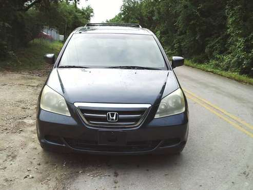 2005 Honda odyssey EX-L Automatic Leather Sunroof alloy wheels for sale in Austin, TX