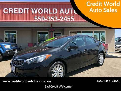 2014 Kia Forte LX CREDIT WORLD AUTO SALES*EVERYONE'S APPROVED!!* for sale in Clovis, CA