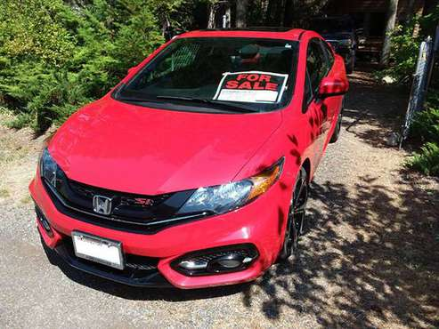 Only 27k miles! - 2015 HONDA CIVIC Si Coupe for sale in MAPLE FALLS, WA