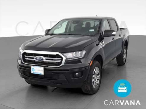 2019 Ford Ranger SuperCrew Lariat Pickup 4D 5 ft pickup Black - -... for sale in Tyler, TX