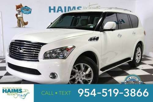 2011 INFINITI QX56 2WD 4dr 7-passenger for sale in Lauderdale Lakes, FL