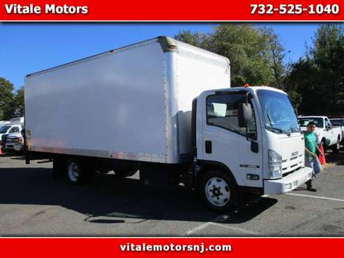 2015 Isuzu NQR NRR 20 FOOT BOX TRUCK W/ LIFTGATE 37K MI. DIESEL for sale in south amboy, NJ
