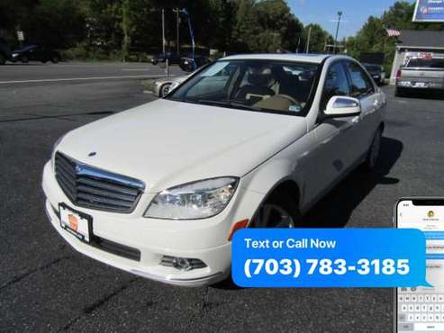 2008 MERCEDES-BENZ C-CLASS 3.0L ~ WE FINANCE BAD CREDIT for sale in Stafford, VA