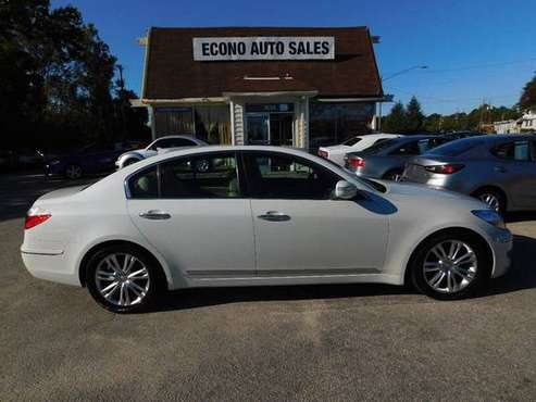2009 Hyundai Genesis White ON SPECIAL! for sale in Raleigh, NC