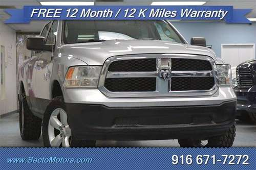 2015 Ram 1500 SLT 4x4 SLT 4dr Crew Cab 5.5 ft. SB Pickup - cars &... for sale in Sacramento , CA