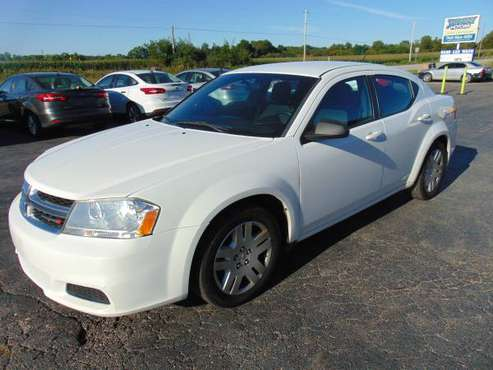 2014 Dodge Avenger Glacier White Buy Here Pay Here $2500 down CLEAN... for sale in New Albany, OH