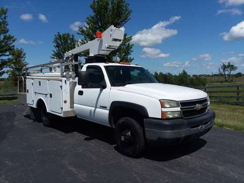 34' 2006 Chevrolet C3500 Bucket Boom Lift Utility Work Service Truck for sale in Hampshire, FL