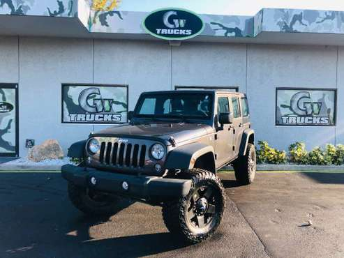 2017 Lifted Jeep Wrangler Sport * NEW LIFT, NEW WHEELS, NEW TIRES * for sale in Jacksonville, FL