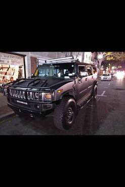 H2 Hummer with H1 Miltary Wheels and Tires for sale in Pittsfield, MA