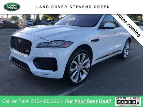 2017 Jag Jaguar FPACE S suv Glacier White Metallic for sale in San Jose, CA