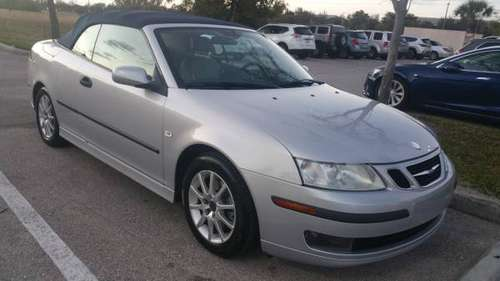 05 Saab 93 2.0-turbo convertible for sale in Fort Myers, FL