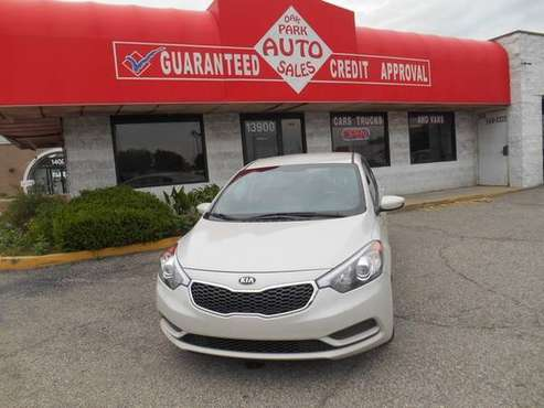 2015 KIA FORTE LX for sale in Oak Park, MI