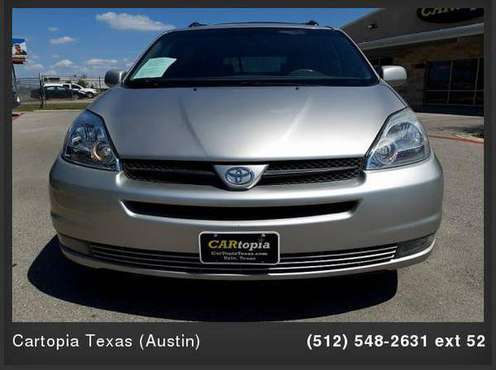 2004 Toyota Sienna 4d Wagon XLE CALL FOR DETAILS AND PRICING for sale in Kyle, TX